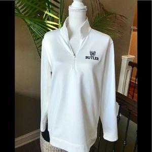 Nike Dri Fit Butler Sweatshirt White Size XL EUC